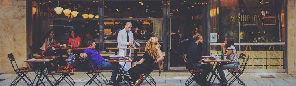 outdoor dining, restaurant, bar