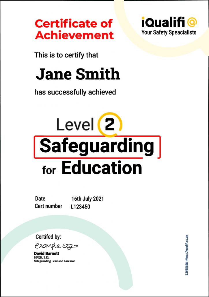Level 2 Safeguarding